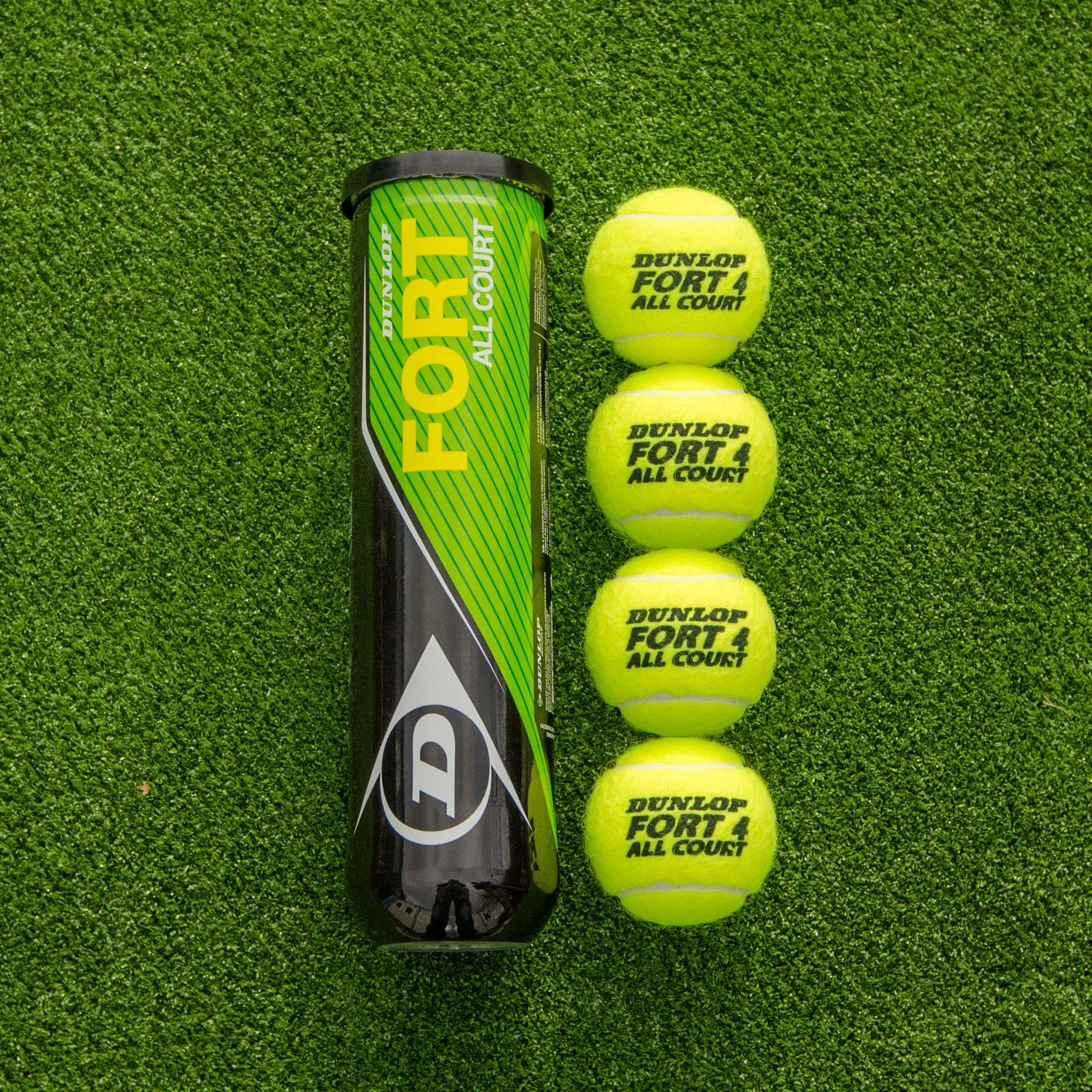 dunlop fort all court tennis balls />