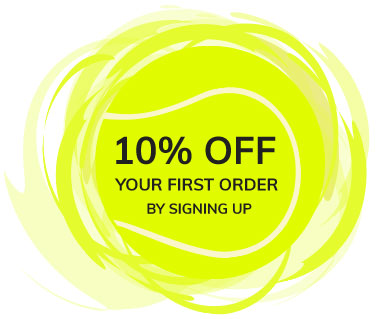 10% off your first order